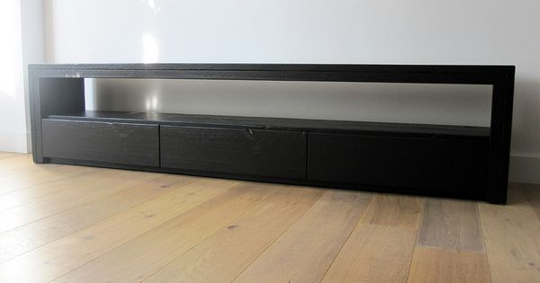 TV meubel Vittali  Zwart steigerhout  Te koop bij w00tdesign ...