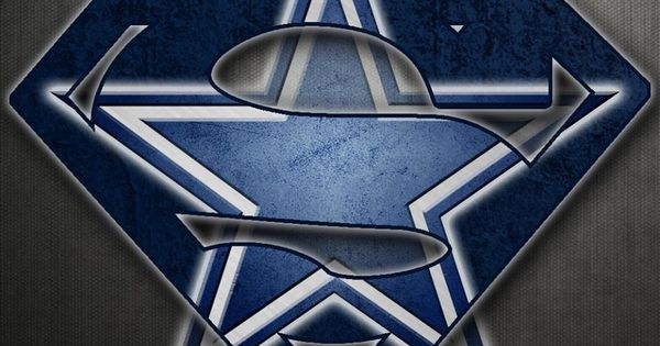 Superman Dallas Cowboys Logo Dallas Cowboys Pinterest