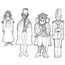 Top 20 Free Printable Nutcracker Coloring Pages Online Coloring Pages Nutcracker Costumes Nutcracker