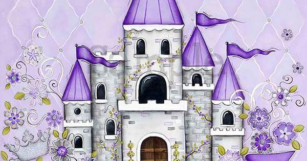 Wall Art For Children S Rooms Castle
