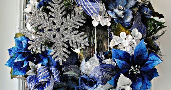 Decorating A Blue & White Christmas: Ideas & Inspiration ...