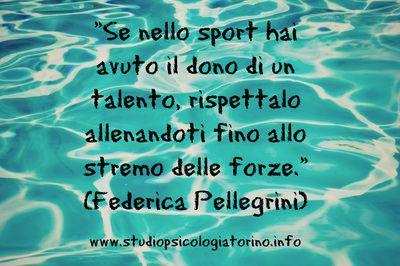 Motivazioni Pellegrini Sport Nuoto Frasi Vita Talento