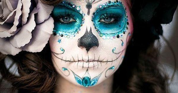 dia de los muertos face painting | ... are a couple more