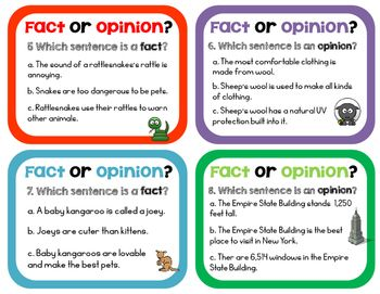 Fact and opinion examples Awesome