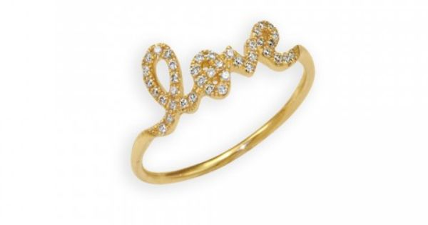 Sydney Evan White Gold Love Ring