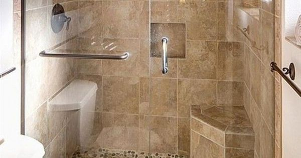 Shower Stalls For Small Bathroom With Seat Shower Stalls For Small Bathrooms Pinterest