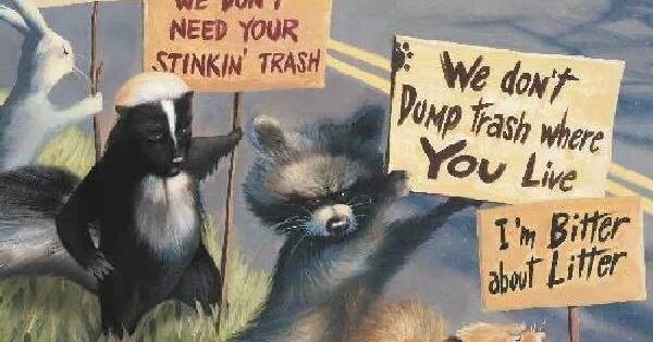 Critters against litter! gilbertDIY.wordpress.com ...