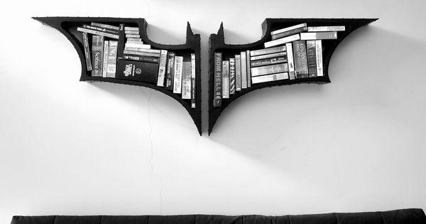 Batman The Dark Knight Bookshelves