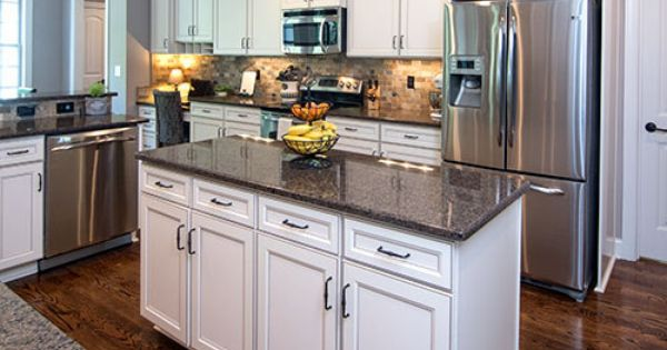 This Kitchen Island Provides Extra Counter Space And