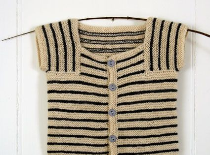 It's a simple knit, inspired by the no-nonsense engineering of knitting great,