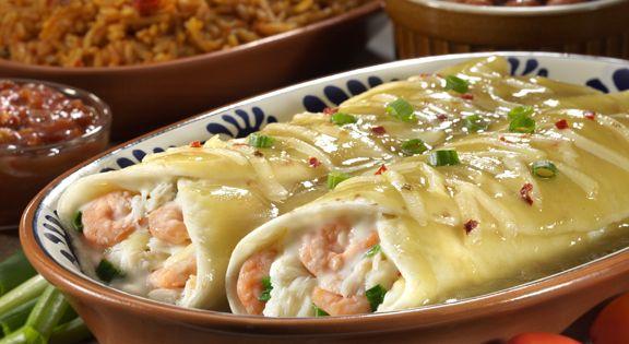 Chevy's Fresh Mex Copycat Recipes: Shrimp and Crab Enchiladas