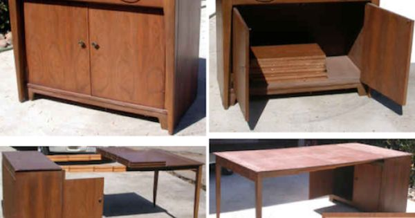 Vintage Expand O Matic Table 285 Buffet Furniture Large