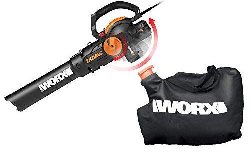 Worx Wg512 Trivac 2 0 Electric 12 Amp 3 In 1 Vacuum Blower Mulcher Vac Sale Leaf Blowers And Vacuums Shop Backyardequip Com In 2020 Lawn Vacuum Blowers Vacuums