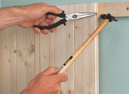 Tongue And Groove Tutorial Tongue And Groove Panelling Wall Paneling Diy Bathroom Wall Panels