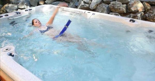 There Are Two Ways To Swim For Beginners To Advanced Users Counter Current Jets Or A Resistive
