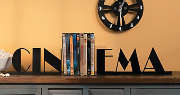 Bookends and cinema on pinterest