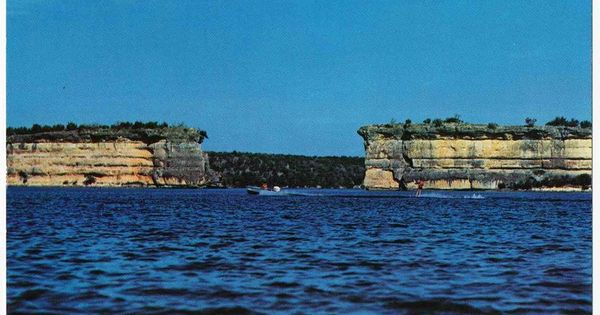 Postcard Hells Gate Possum Kingdom Lake Texas Our