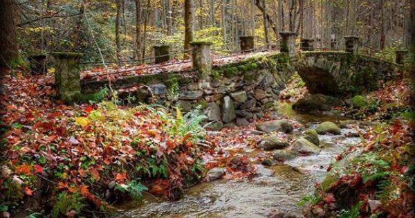 Troll Bridge Elkmont Great Smoky Mountains By Bryan Nowak