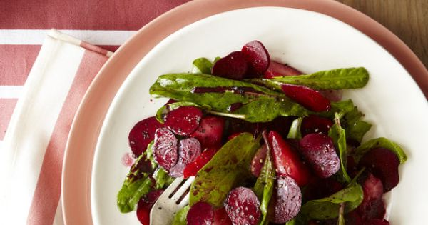 Beet, Berry and Sorrel Spring Salad by Sean Brock, wsj Salad Beet