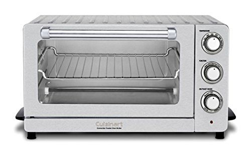 Cuisinart Tob 60n1 Toaster Oven Broiler With Convection Stainless Steel In 2020 Stainless Steel Toaster Toaster Countertop Oven