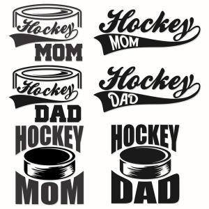 Hockey Mom Dad Cuttable Designs Hockey Mom Hockey Mom Quote Hockey