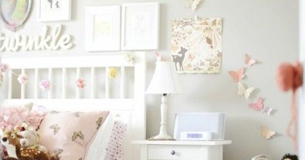 shabby chic stil kinderzimmer bettw sche tolle wanddeko einfach nur sch n only beautiful. Black Bedroom Furniture Sets. Home Design Ideas