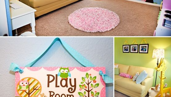 Playroom ideas - love the color scheme