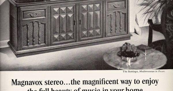 Magnavox Ad 1967 Vintage Hi Fi Pinterest Rock N