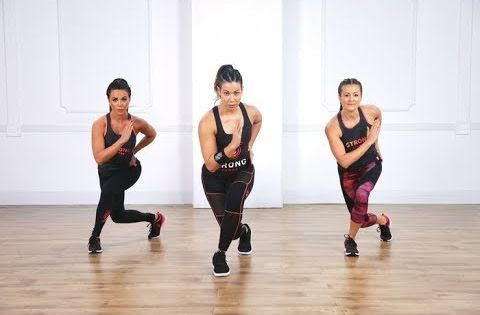 Take Your Love Of Moving To The Beat Into Your Strength Training Workouts With Strong By Zumba This Is A Tone Body Workout Zumba Workout Zumba Dance Workouts