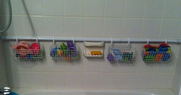 Frugal Tip Bathtub Toy Storage With Images Bathroom