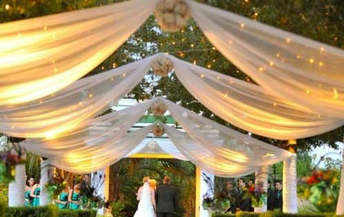 Outdoor Summer Wedding Ceremony Budget Wedding Ideas For Brides Grooms Home Decor At Repinned Net