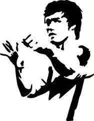 Attelu Rezultati Vaicajumam Awesome Black And White Stencils Bruce Lee Art Silhouette Art Bruce Lee