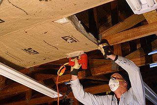 How To Install Kraft Faced Fiberglass Insulation In A Garage