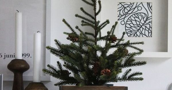 Not a big fan of huge xmas tree? You can jazz-up your