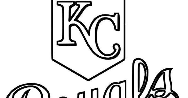 06 Kansas City Royals Baseball Coloring At Coloring Pages