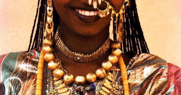 Africa | Afar Bride. Djibouti | They primarily live in the Afar