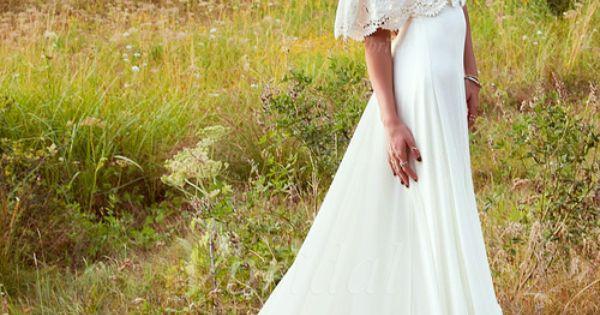 Hochzeit, Spitze and Chiffon on Pinterest