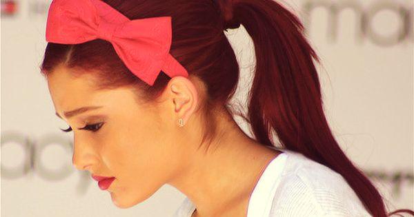 dark red hair. Next hair color!