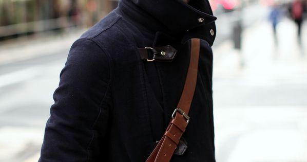 WORMLAND Men's Fashion inspires! http://www.wormland.de. winter coat