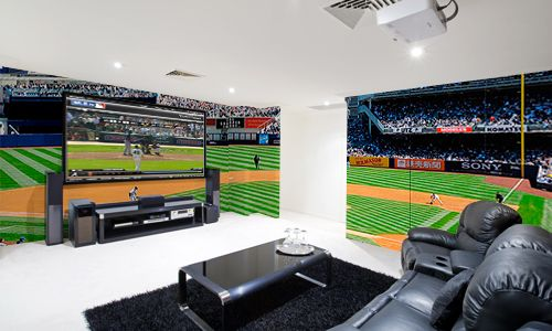 Create The Perfect Man Cave With Eazywallz Wall Murals Man Cave