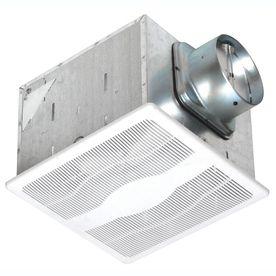 Air King 0 3 Sone 80 Cfm White Bathroom Fan Energy Star Esb80d Bathroom Exhaust Fan Whole House Ventilation