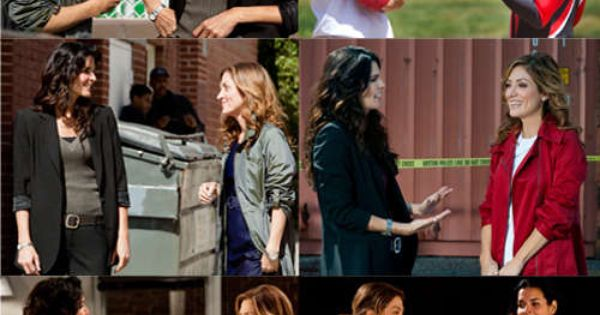 Rizzoli and Isles Lesbian | Body language does not lie