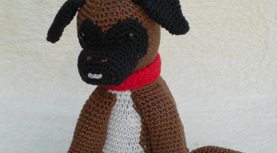 Amigurumi Boxer Dog : Crochet patterns Boxer puppy or Pigeons - Haakpatroon ...