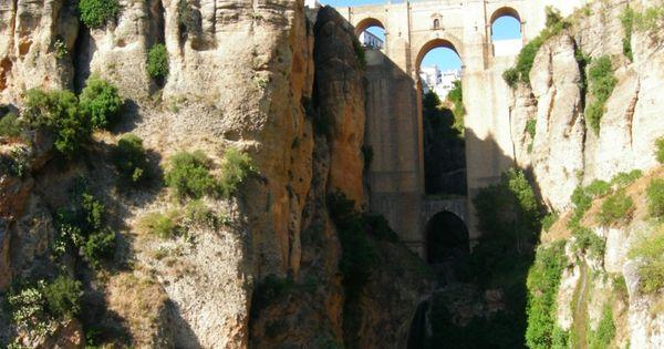 Bridge in Ronda, Spain. Built in 1793