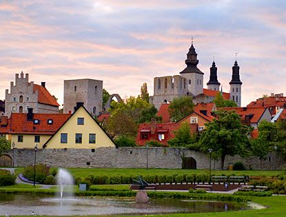 Visby. This was one of my favorite places in Sweden. I remember