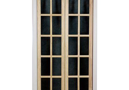 Awc Traditional Divided Light Glass 36 X 80 5 Bifold Door Walmart Com Glass Bifold Doors French Doors Bifold Doors