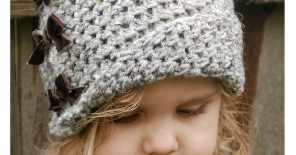 Free Crochet Hat Pattern For 6 Year Old : Crochet PATTERN-The Paiyton Cloche (Toddler, Child, and ...