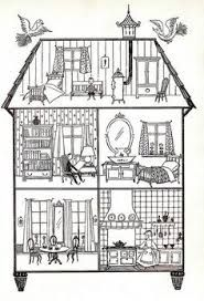 Image Result For Things Inside The House Clipart House Illustration House Colouring Pages House Drawing