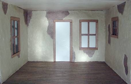 Real Plaster Walls : Crumbling plaster walls and aged ceilings how to making