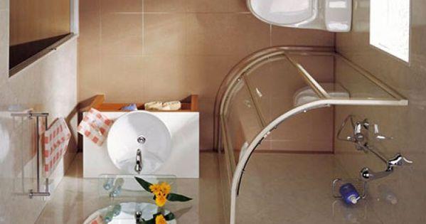 11 excelentes ideas para un cuarto de ba o peque o - Banos pequenos y comodos ...